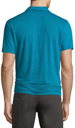 Vilebrequin Men's Pyramid Linen Polo Shirt