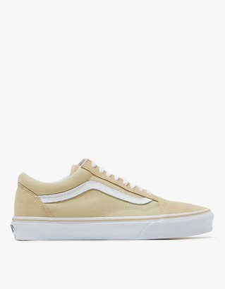 Old Skool in Pale Khaki/White $55 thestylecure.com
