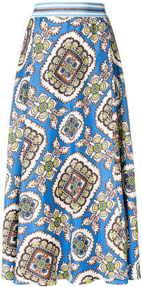 Altea floral print skirt
