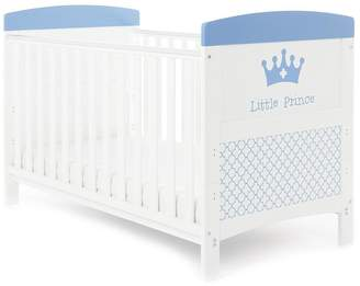 O Baby Obaby Grace Inspire Little Prince Cot Bed