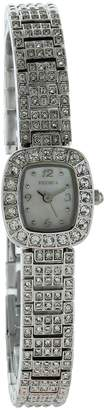 Elgin Women's Tone full stone Dress Watch EG8096