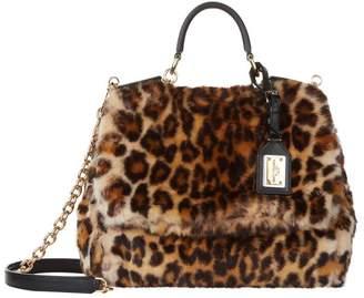 At Harrods Dolce Gabbana Medium Sicily Soft Leopard Print Bag