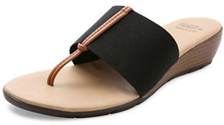 Andre Assous Nima Wedge Sandals $99 thestylecure.com