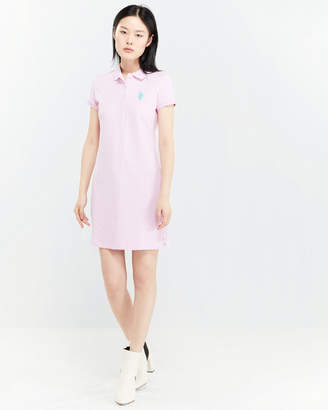 U.S. Polo Assn. Polka Dot Polo Dress