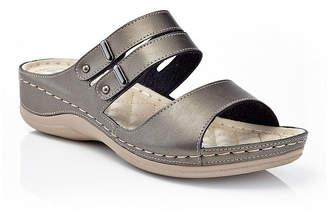 HENRY FERRERA Henry Ferrera Comfort-Aaa/Brown Womens Flat Sandals