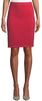 Emporio Armani Ottoman Ribbed Skirt