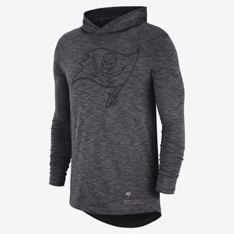 Nike Dri-FIT (NFL Buccaneers) Men's Hooded Long-Sleeve Top