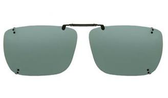 SOLAR SHIELD Solar Shield Unisex Rimless Polarized Solarshield Clipon Sunglasses Sc04