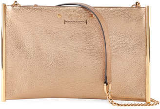 Chloé Roy Metallic Leather Crossbody Bag