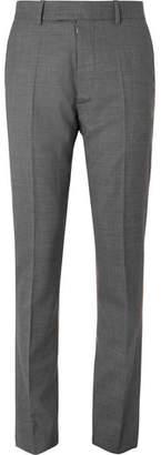 Maison Margiela Grey Slim-Fit Mélange Virgin Wool Suit Trousers