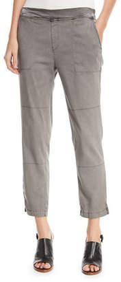 XCVI Santucci Stretch Twill Pants, Plus Size