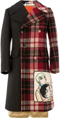 Gucci coat with Viva! Volleyball patch
