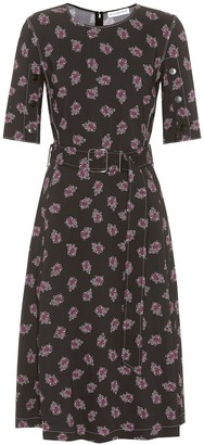 Altuzarra Elena printed cady dress