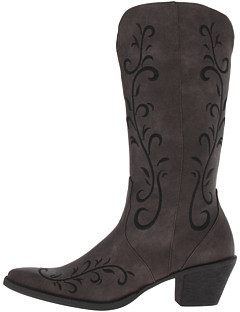 """Roper 12"""" Scroll Embroidered Boot"""