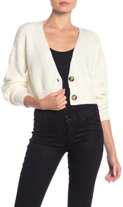 Double Zero V-Neck Cropped Cardigan
