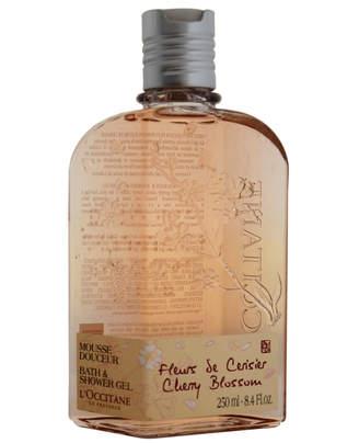 L'Occitane 8.4Oz Cherry Blossom Bath & Shower Gel