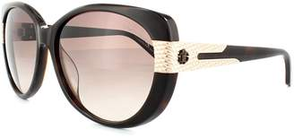 Roberto Cavalli Sunglasses Fesdu 745T 52F Black Grey Gradient