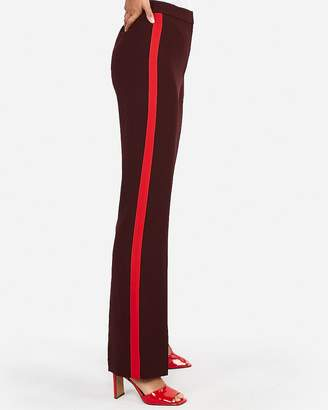Express Super High Waisted Side Stripe Wide Leg Pant