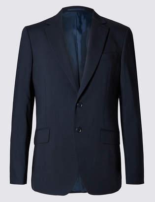 Marks and Spencer Big & Tall Navy Regular Fit Jacket