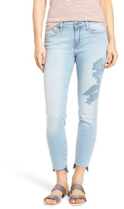 Women's Mavi Jeans Adriana Ankle Skinny Jeans $118 thestylecure.com