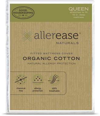 ALLEREASE Allerease Naturals Organic Cotton Mattress Protector