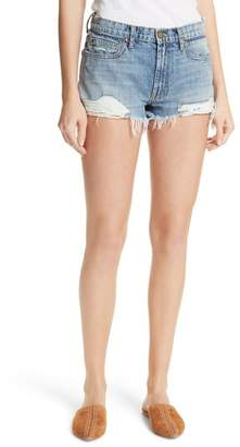 The Great The Destroy Cutoff Denim Shorts