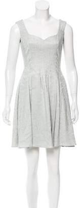 Zac Posen Jacquard Mini Dress w/ Tags