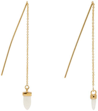 Isabel Marant Gold Horn Drop Earrings
