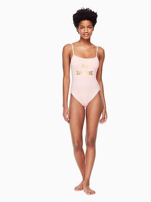 Kate Spade Zuma classic one-piece swimsuit
