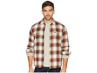 True Grit Summit Shirt Jacket with Ultra Soft Faux Sherpa Lining
