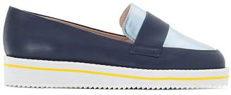 CASTALUNA Wide-fit Two-tone loafers