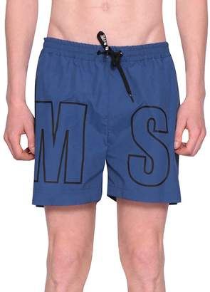 MSGM Logo Swim Shorts