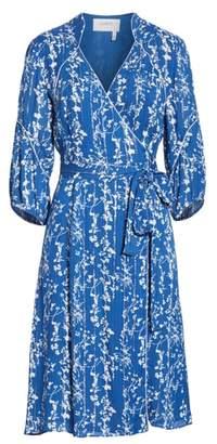 BA&SH Folia Wrap Dress