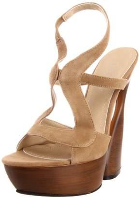 Pleaser USA Women's Swan-657/TPS Ankle-Strap Sandal