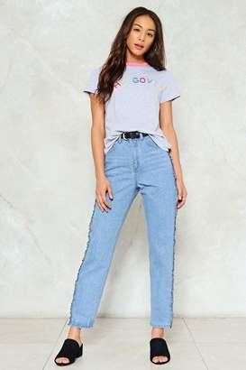 Nasty Gal West Side Denim Jeans