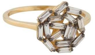 Suzanne Kalan 18K Diamond Round Fireworks Ring