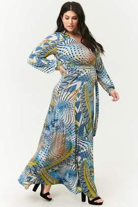 ba0c94a3edb Forever 21 Blue Plus Size Dresses - ShopStyle Canada
