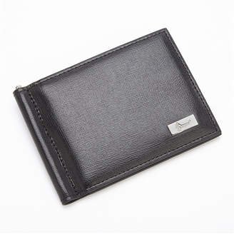 Royce Leather Royce Saffiano Leather Front Pocket Wallet