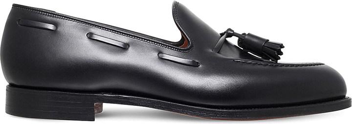 Crockett JonesCROCKETT & JONES Cavendish leather tassle loafers