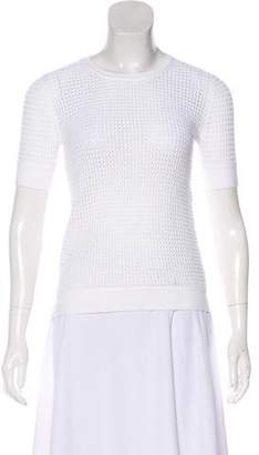 Theory Short Sleeve Knit Top