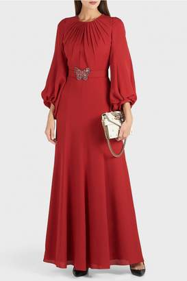 Andrew Gn Bubble Sleeve Dress