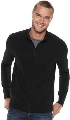 Marc Anthony Men's Slim-Fit Full-Zip Mockneck Sweater