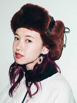 X-girl (エックス ガール) - エックスガール JACQUARD FLIGHT CAP
