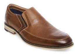 Steve Madden Jermin Wood-Trim Leather Loafers