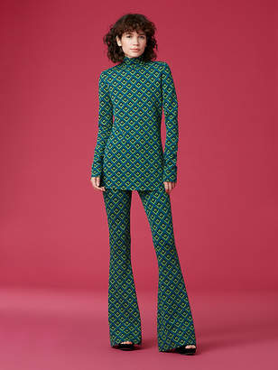Diane von Furstenberg PoloNeck Sweater