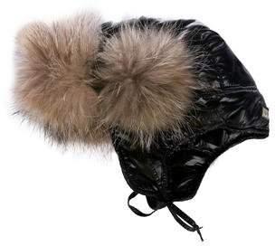 JC de CASTELBAJAC Fur-Trimmed Trapper Hat