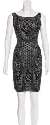 Herve Leger Sleeveless Mini Dress w/ Tags