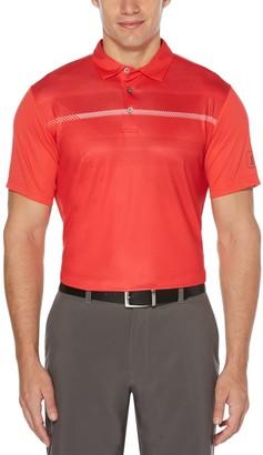 Men's Grand Slam Heritage DriFlow Slim-Fit Colorblock Performance Golf Polo