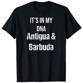 Antigua Its In My DNA & Barbuda Country Pride T-Shirt