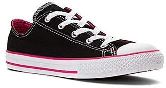 Converse Chuck Taylor All Star Double Tongue OX Low Top Black/Vivid, Pink/White